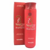 Восстанавливающий шампунь с керамидами Masil 3 Salon Hair CMC Shampoo 300 мл